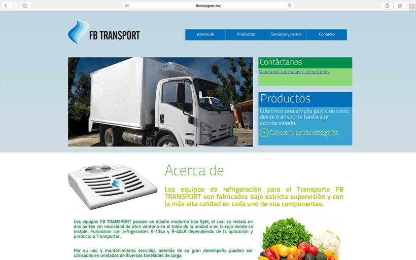 FB TRANSPORT: SITIO WEB 0