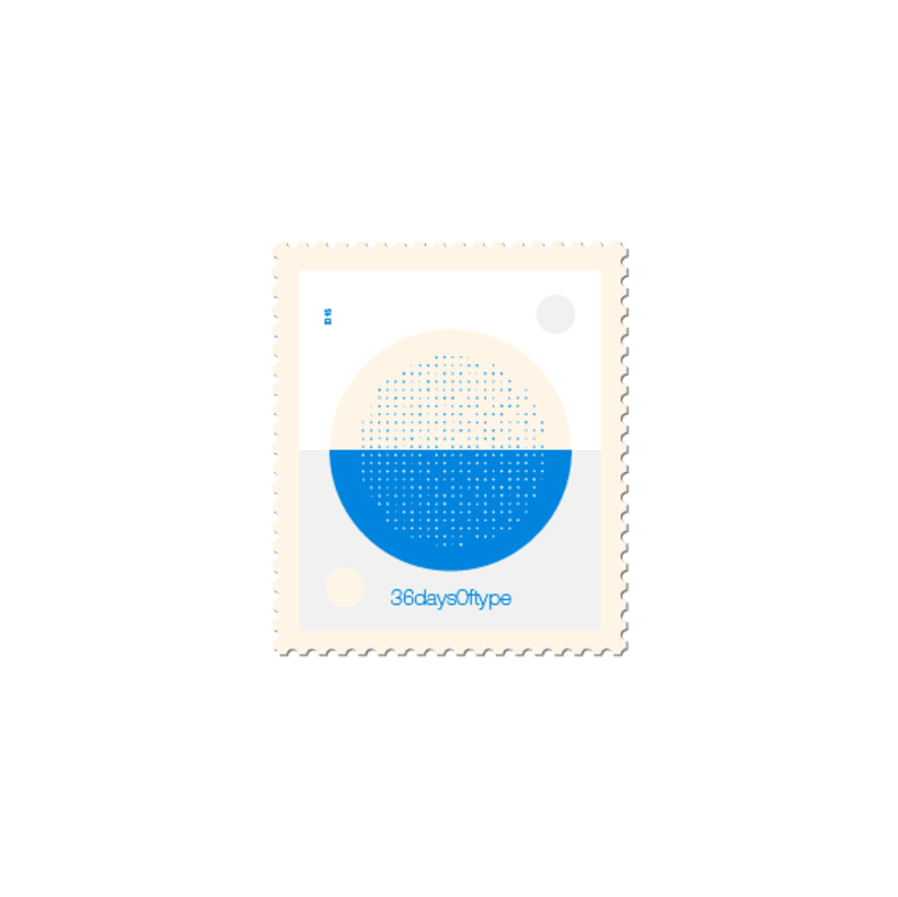 36 days of stamps 28