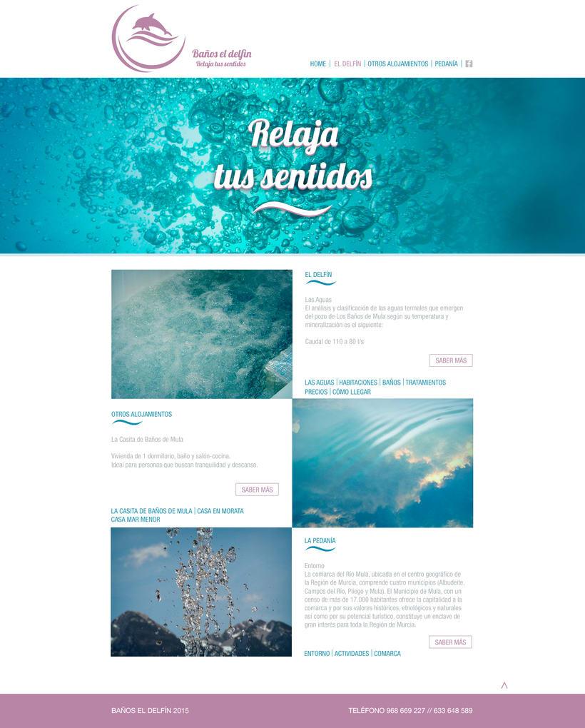 Web Baños de Mula 3