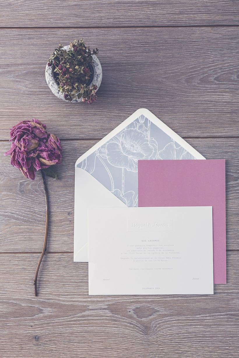 Invitaciones de boda R&J 0
