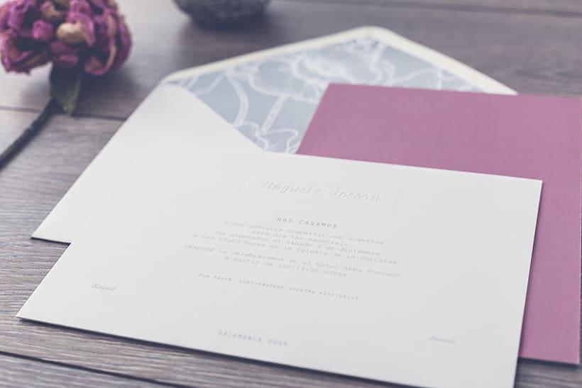 Invitaciones de boda R&J 3