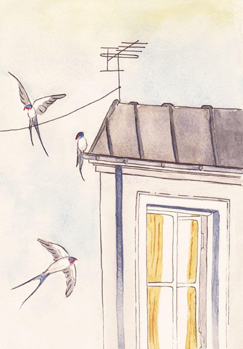 Maquetación e ilustración de un relato corto, 'La Molicie' 5