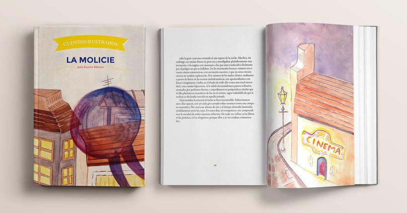 Maquetación e ilustración de un relato corto, 'La Molicie' 0