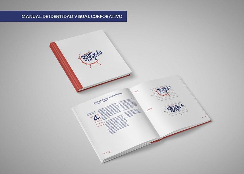 Creación de marca e identidad visual para el 'Festival Blues Cazorla' (Propuesta) 3
