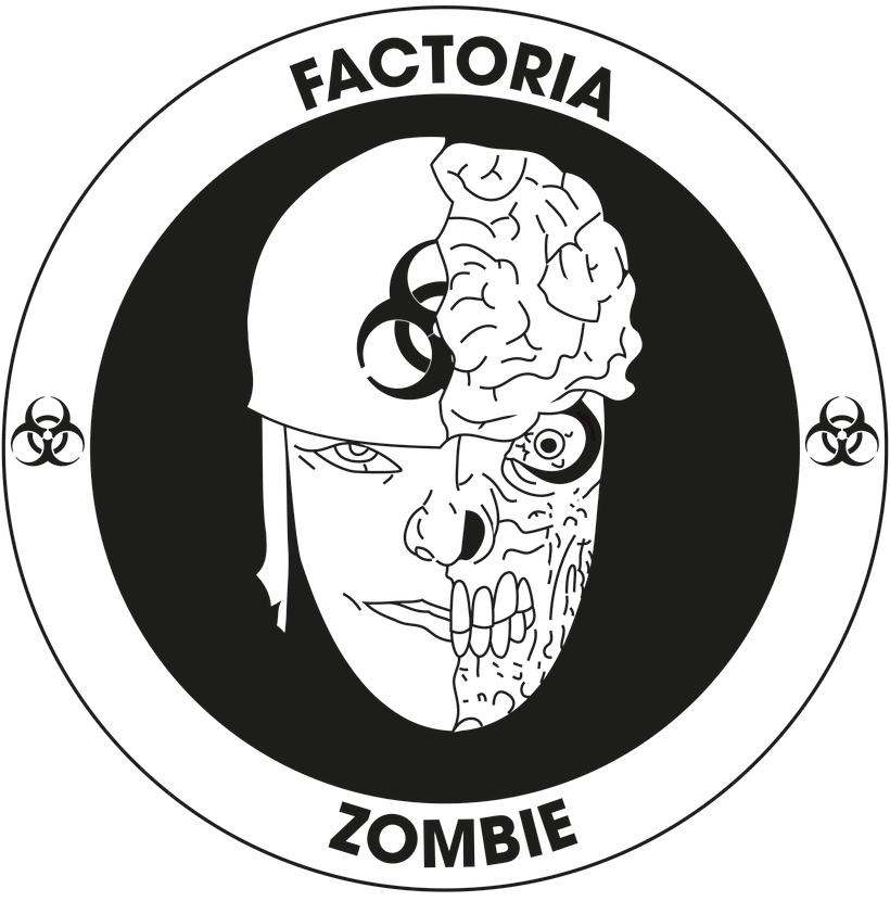 Diseño Logotipo - Parche para la empresa Factoría Zombie 0
