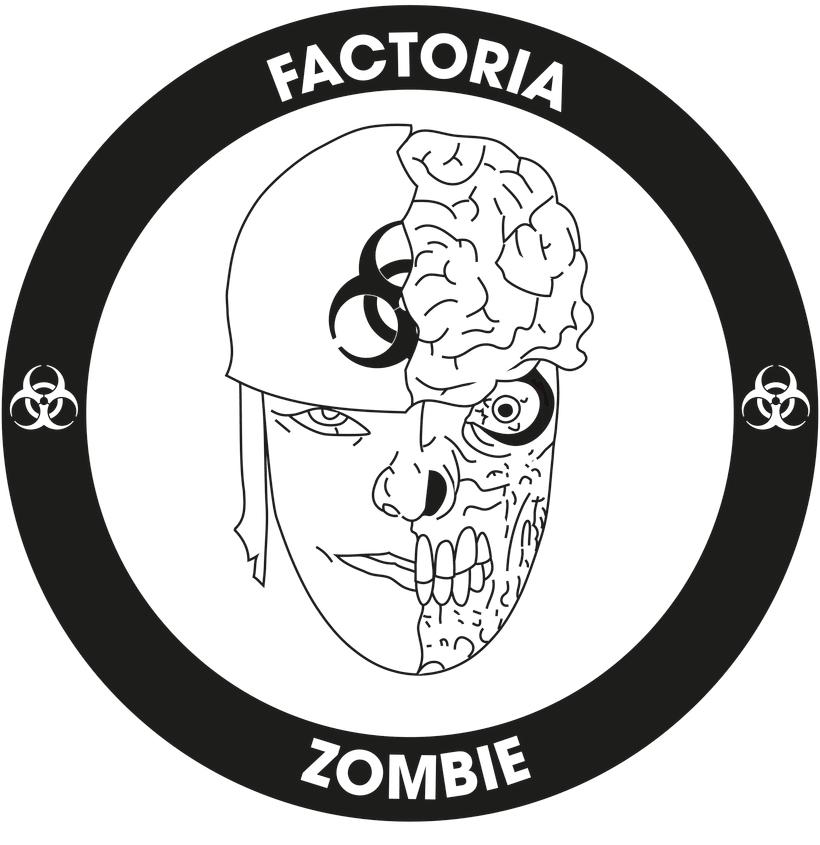Diseño Logotipo - Parche para la empresa Factoría Zombie 1