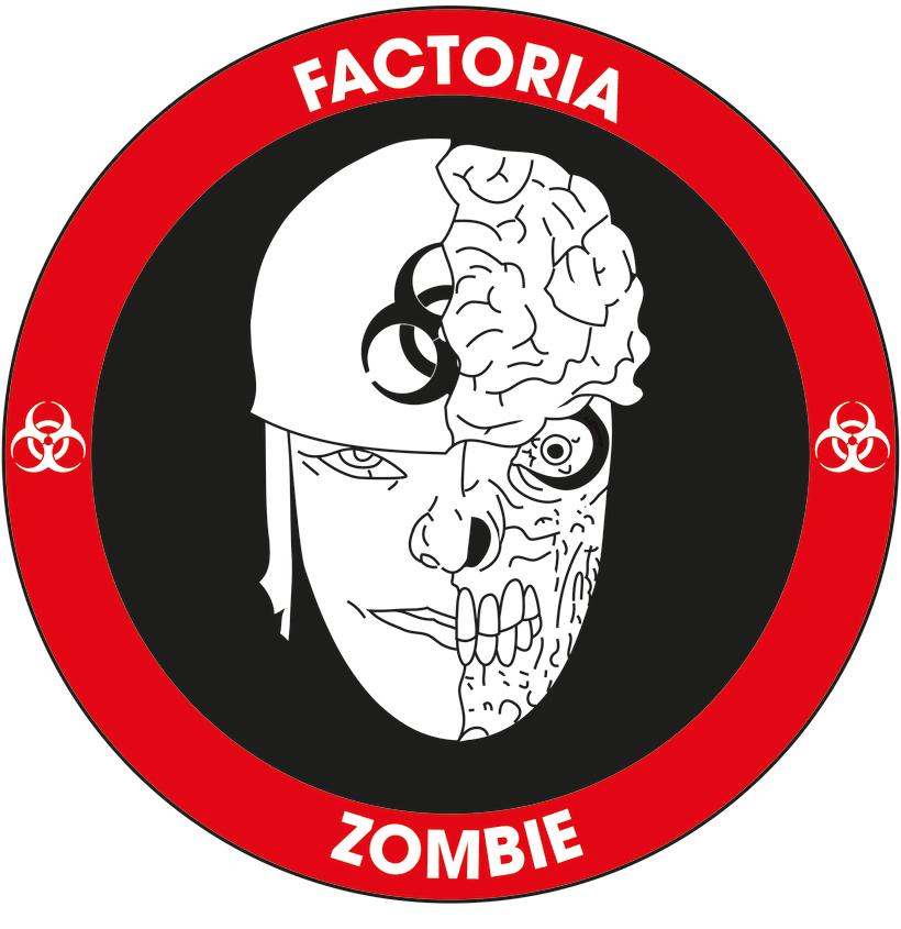 Diseño Logotipo - Parche para la empresa Factoría Zombie 5