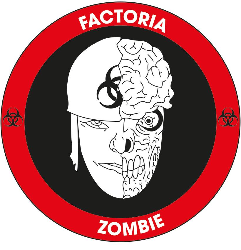 Diseño Logotipo - Parche para la empresa Factoría Zombie 7