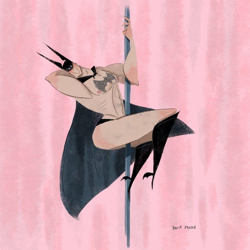 Estupido y sensual Batman -1