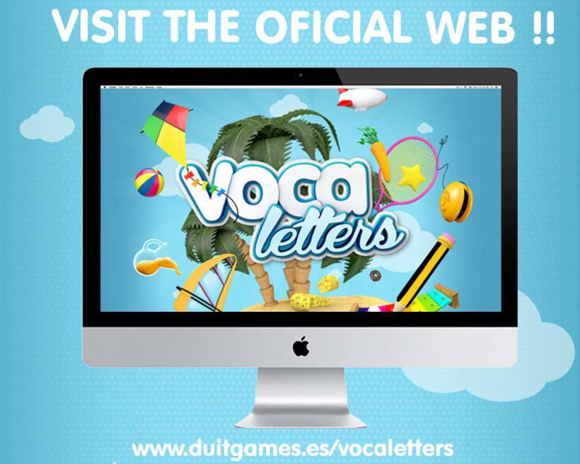 Voca Letters - Videojuego Multiplataforma 5