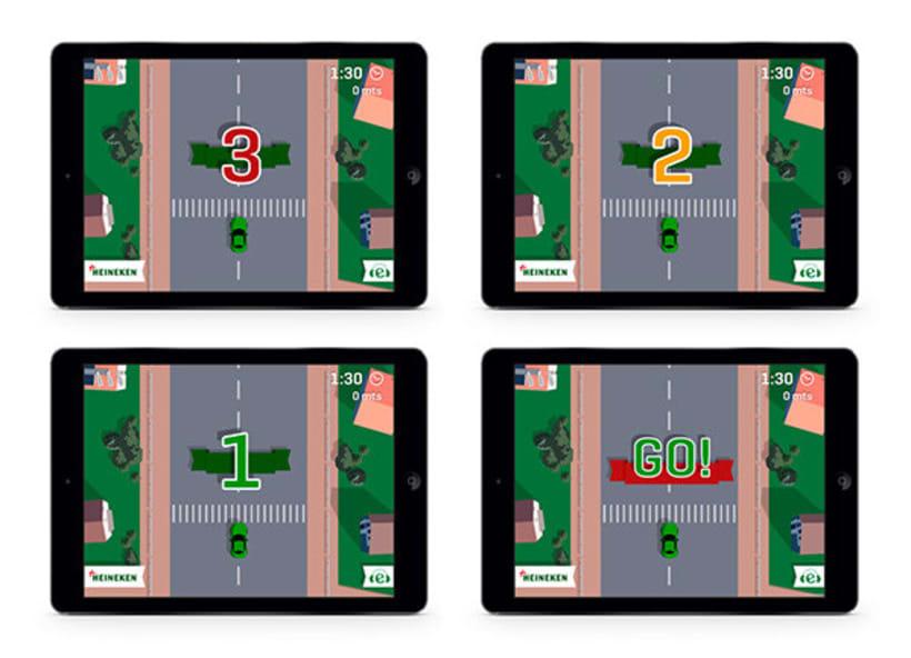 Drive Safe by Heineken - Videojuego Multiplataforma 5