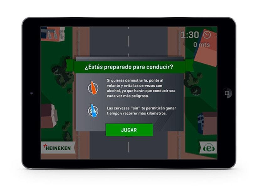 Drive Safe by Heineken - Videojuego Multiplataforma 3