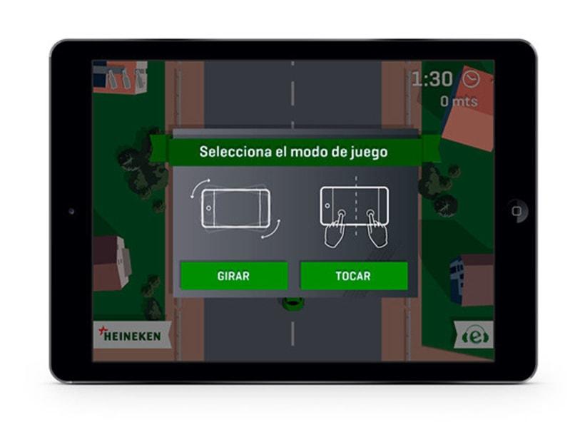 Drive Safe by Heineken - Videojuego Multiplataforma 4