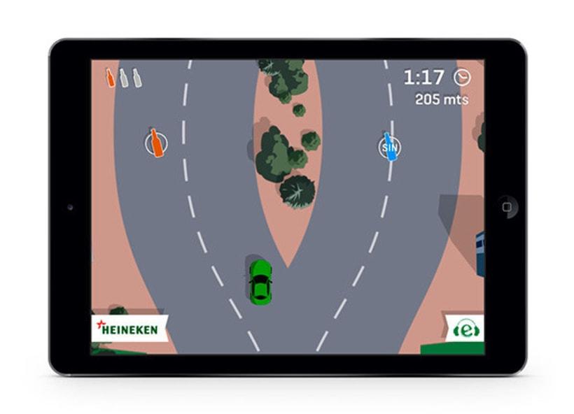 Drive Safe by Heineken - Videojuego Multiplataforma 7