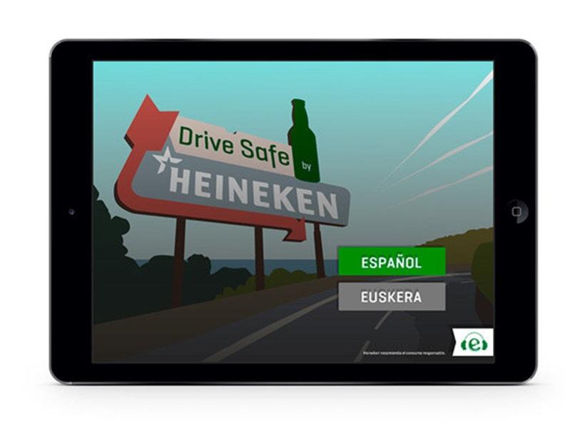 Drive Safe by Heineken - Videojuego Multiplataforma 2