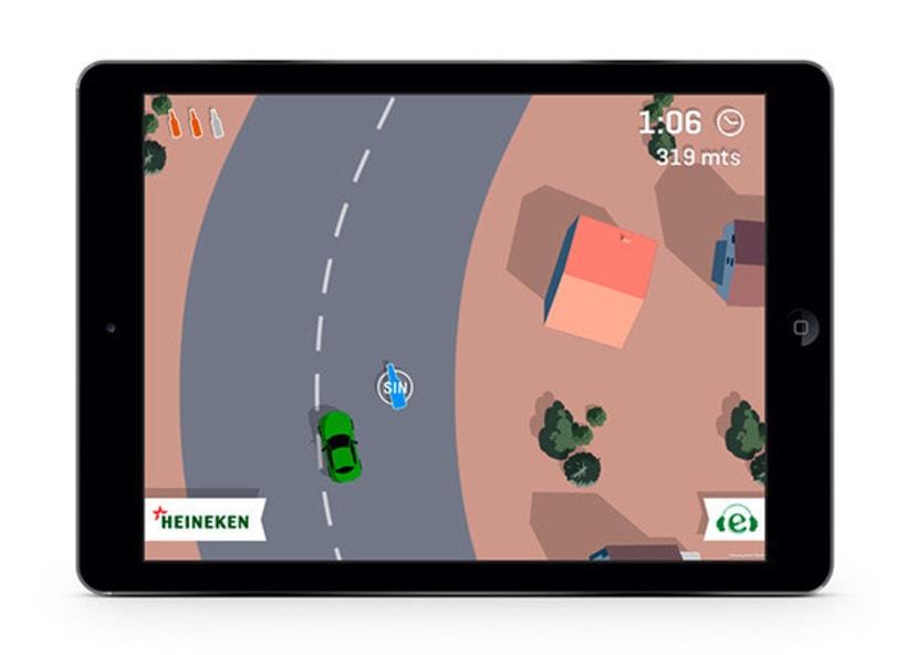 Drive Safe by Heineken - Videojuego Multiplataforma 9