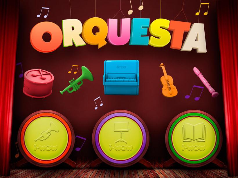 Orchestra 3.0 - Imaginarium i-wow - Android/iOS 1