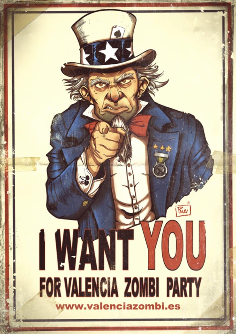 I want you for Valencia Zombi Party 1