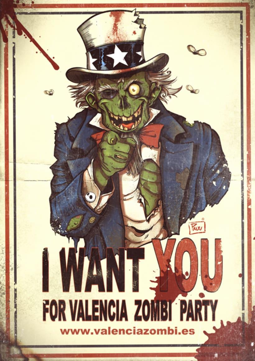 I want you for Valencia Zombi Party 2
