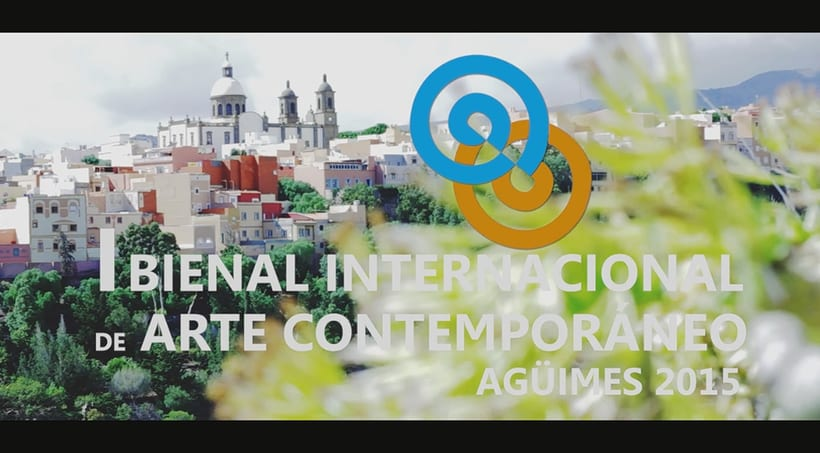 """Vídeo promocional para la """"I bienal internacional de arte contemporáneo. Agüimes 2015"""" -1"""