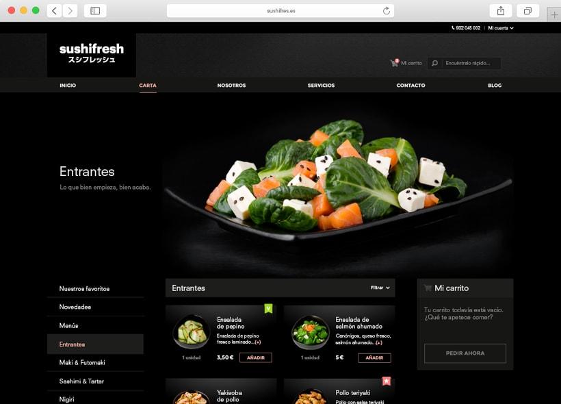 Sushifresh e-commerce 2