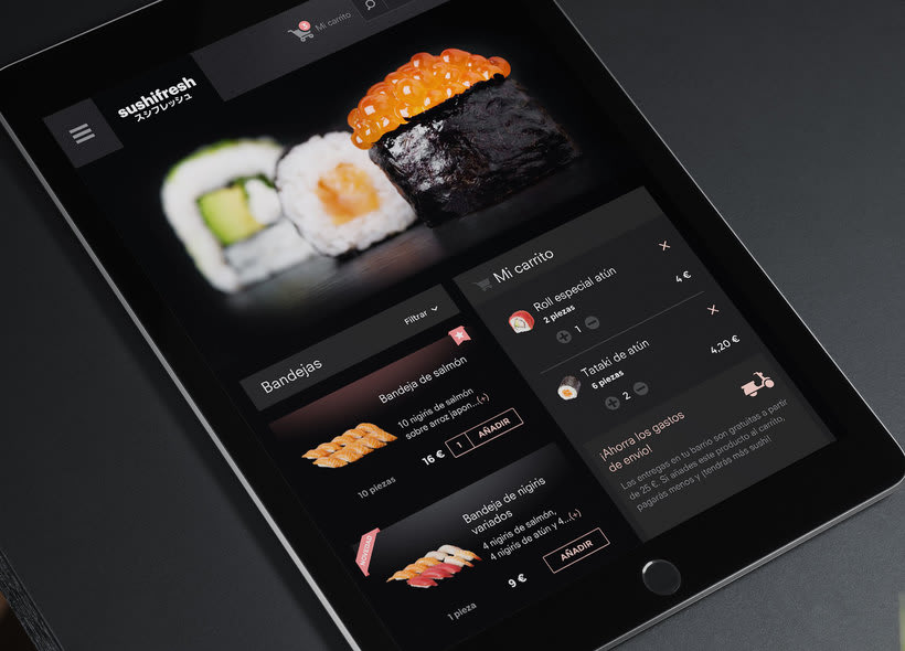 Sushifresh e-commerce 4