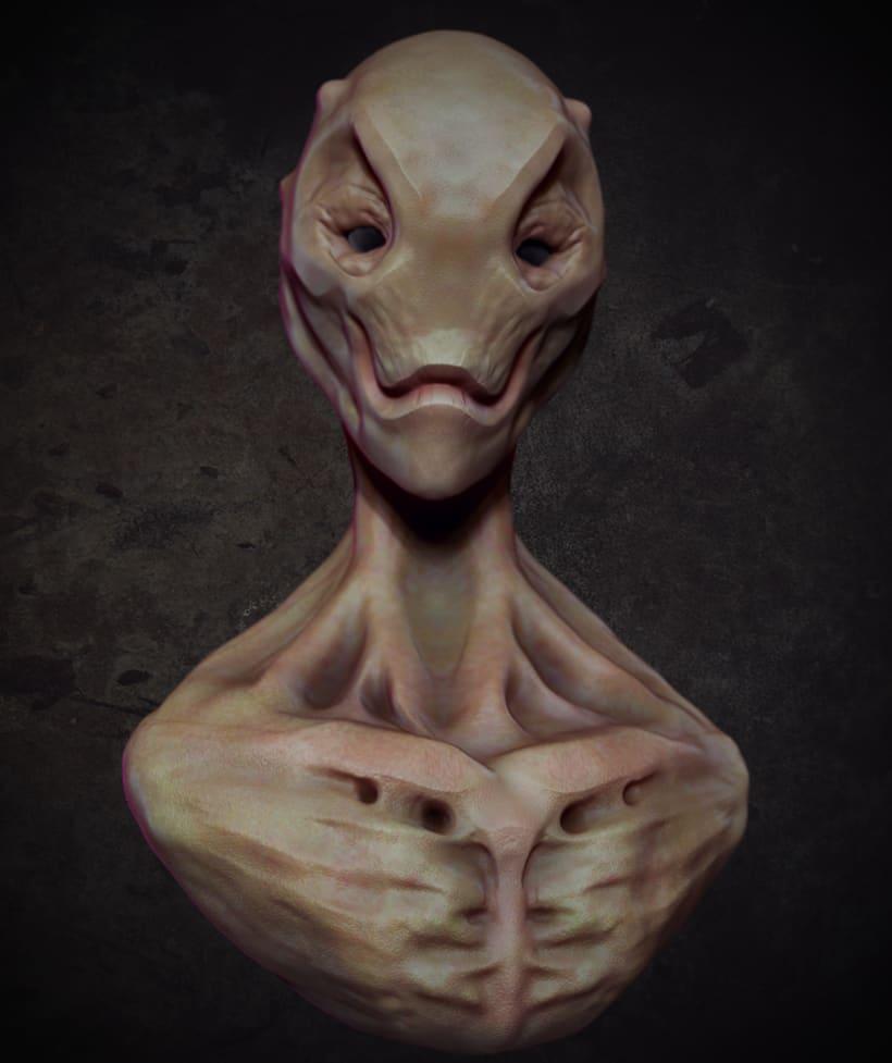 Busto Alien 0