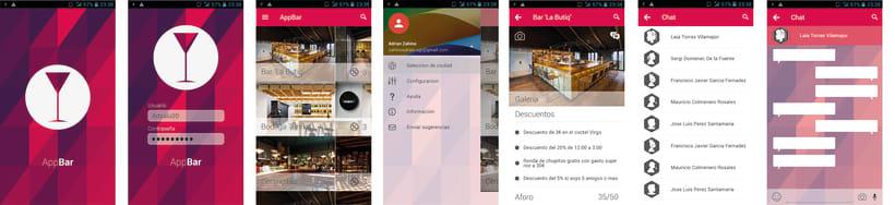 AppBar - Aplicación móvil 1
