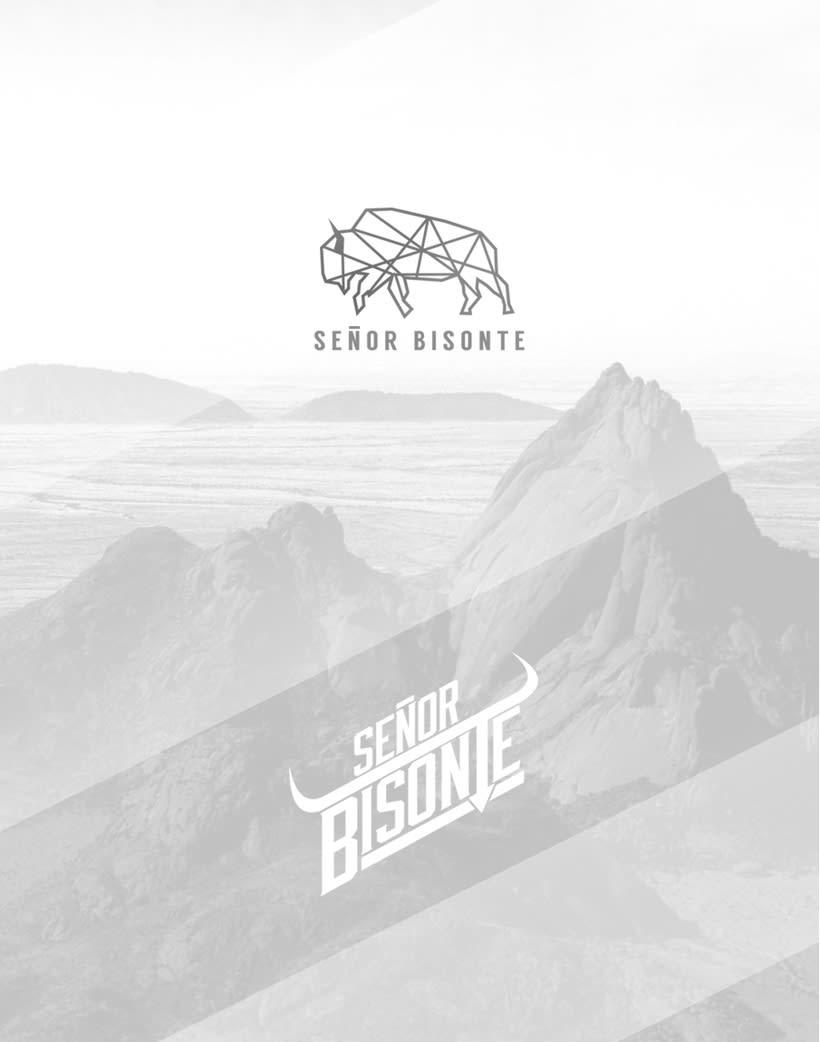 Señor Bisonte Branding/Cover Album 0