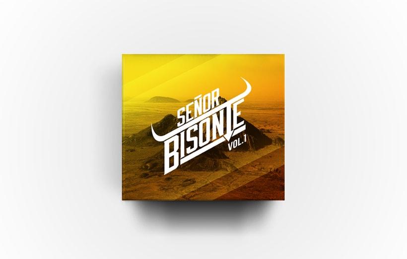 Señor Bisonte Branding/Cover Album 1