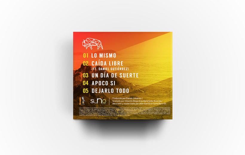 Señor Bisonte Branding/Cover Album 3