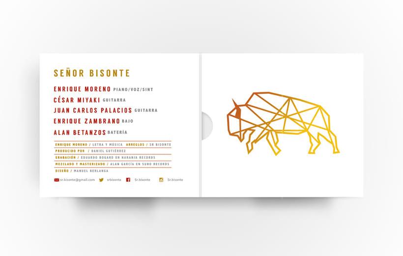Señor Bisonte Branding/Cover Album 2