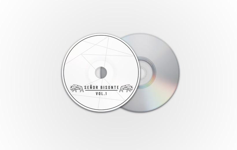 Señor Bisonte Branding/Cover Album 4