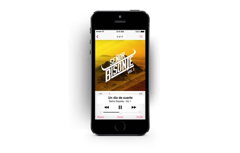 Señor Bisonte Branding/Cover Album 6