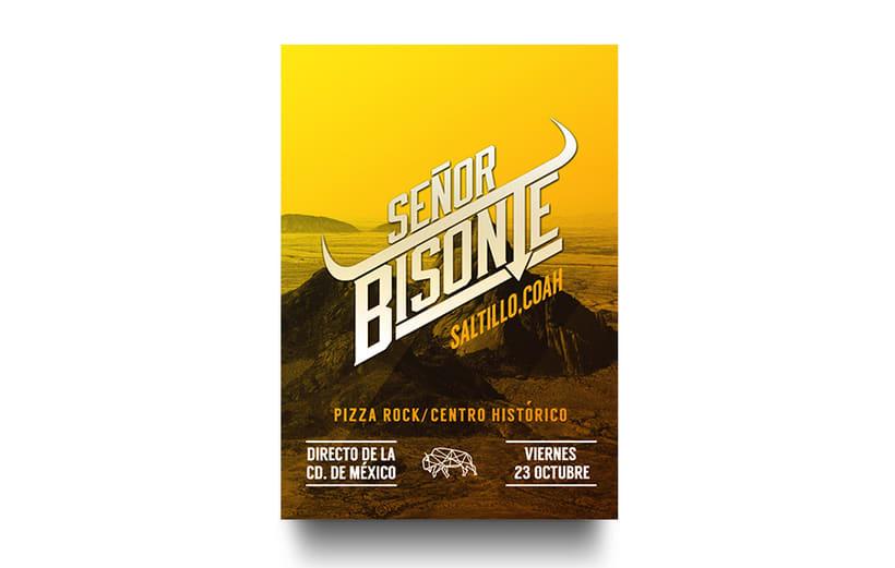 Señor Bisonte Branding/Cover Album 7