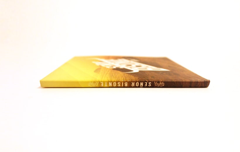 Señor Bisonte Branding/Cover Album 11