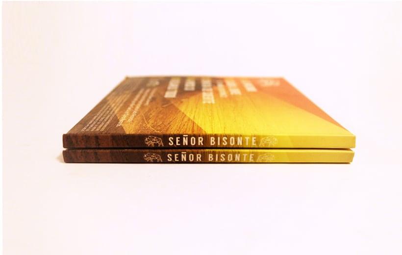 Señor Bisonte Branding/Cover Album 13