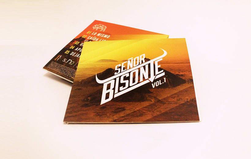 Señor Bisonte Branding/Cover Album 14