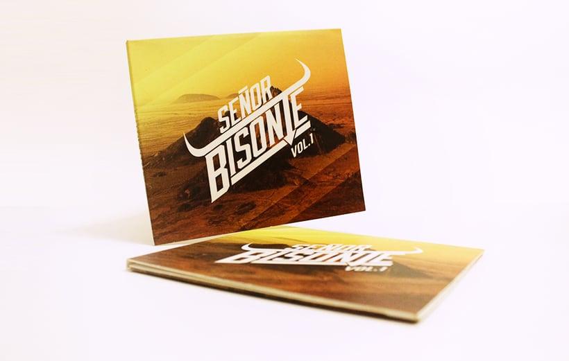 Señor Bisonte Branding/Cover Album 15
