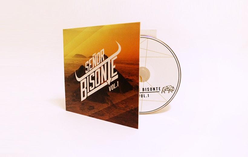Señor Bisonte Branding/Cover Album 16