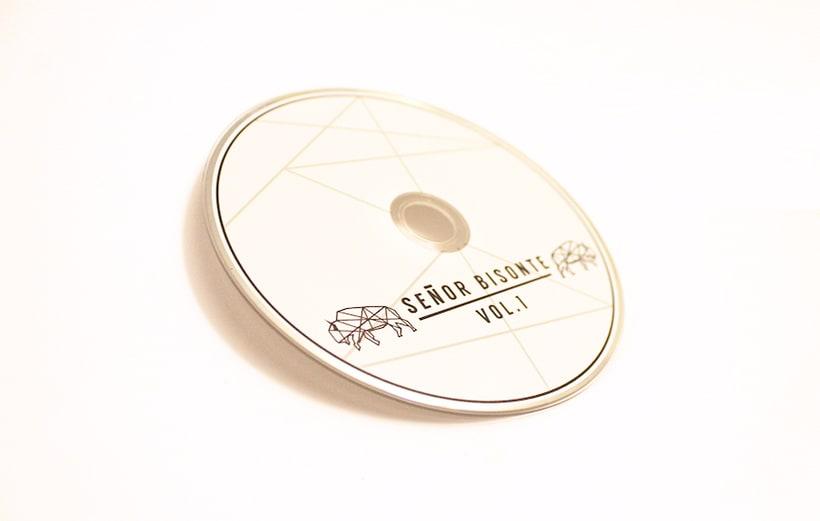 Señor Bisonte Branding/Cover Album 18