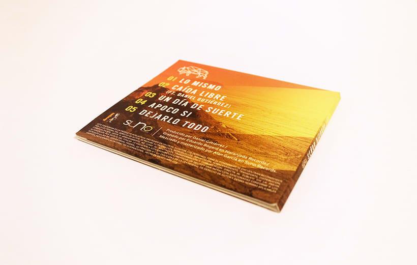 Señor Bisonte Branding/Cover Album 12