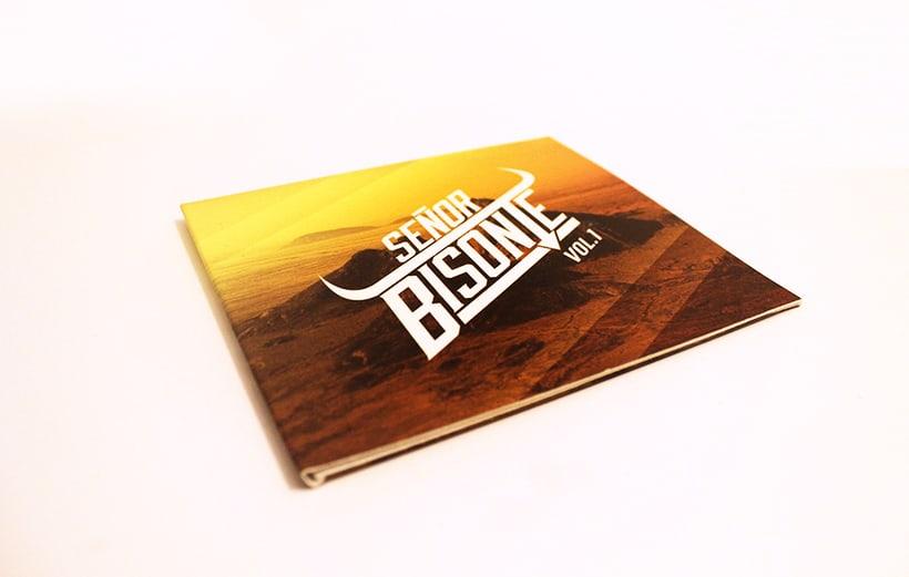 Señor Bisonte Branding/Cover Album 10