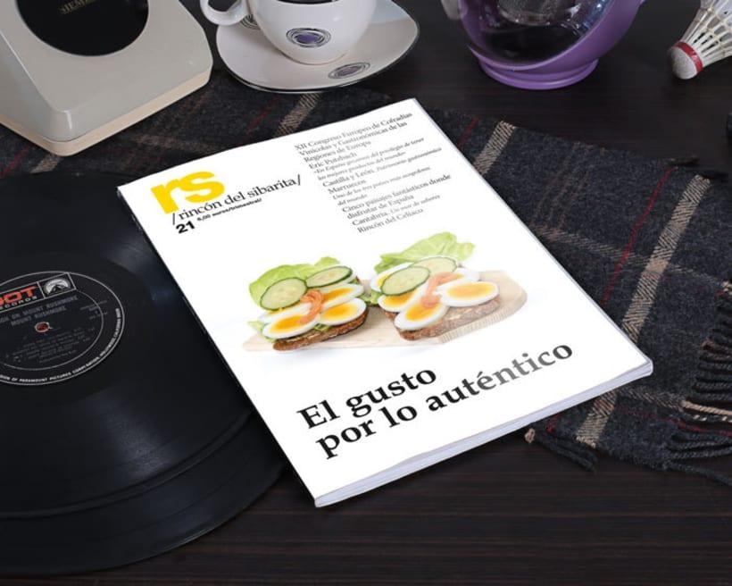 Revista RS Rincón del Sibarita. Versión impresa y digital -1