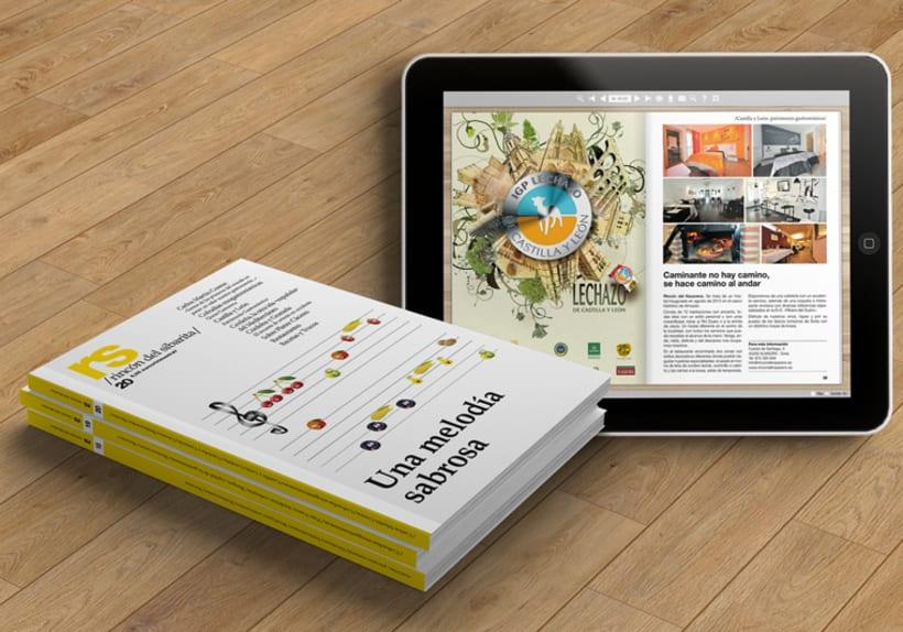 Revista RS Rincón del Sibarita. Versión impresa y digital 0