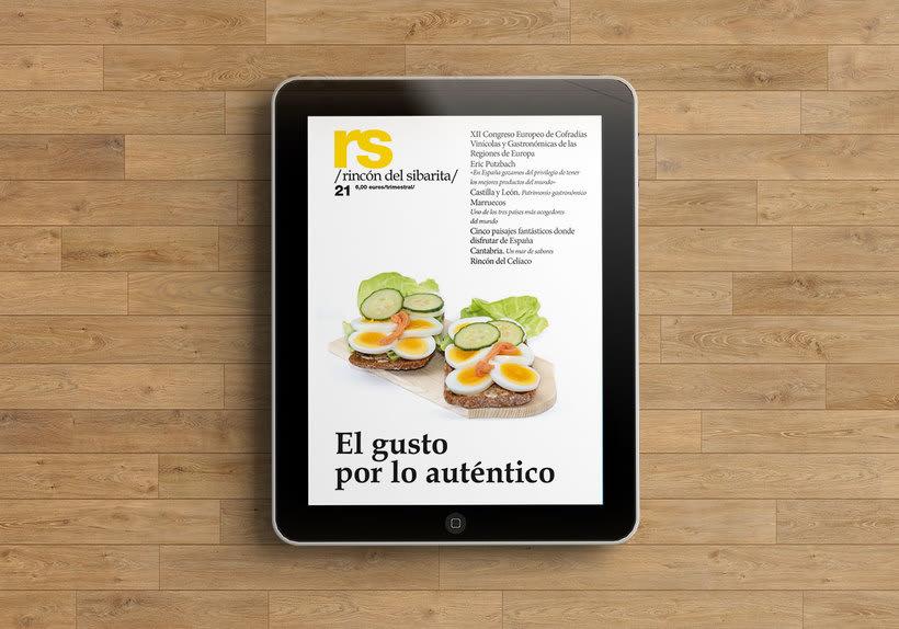 Revista RS Rincón del Sibarita. Versión impresa y digital 1