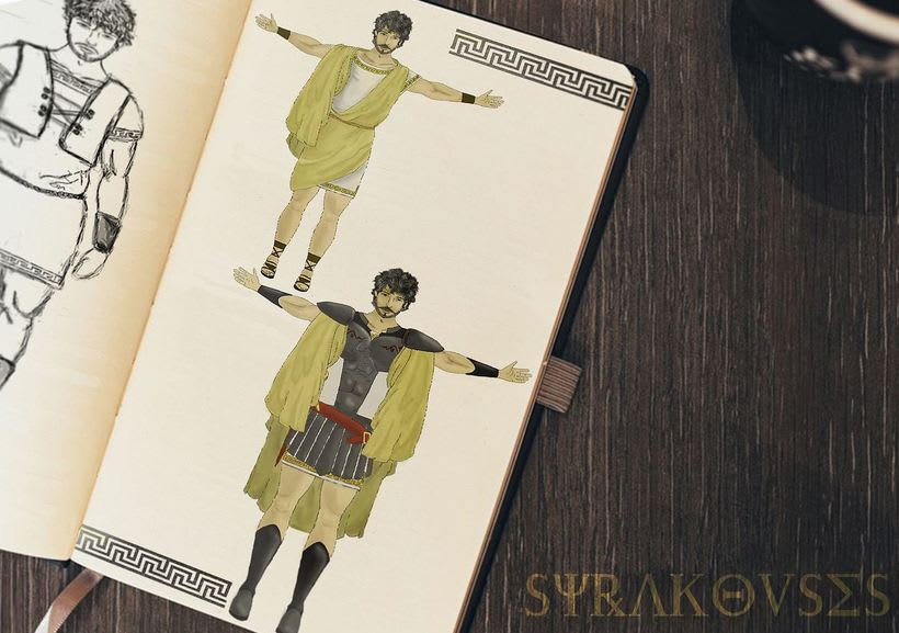Character Design: Syracouses 0