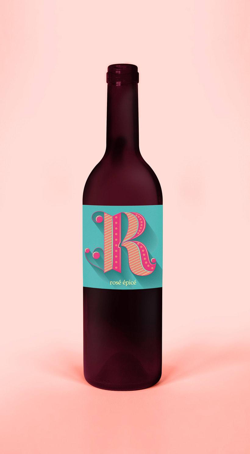 Vin rosé 0