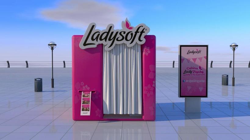 STAND LADYSOFT// Diseño / Modelado 3D 0
