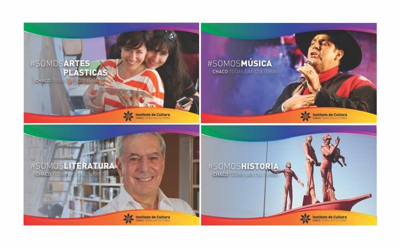 "Agenda Cultural ""Sí, Vamos"" - Instituto de Cultura del Chaco 1"
